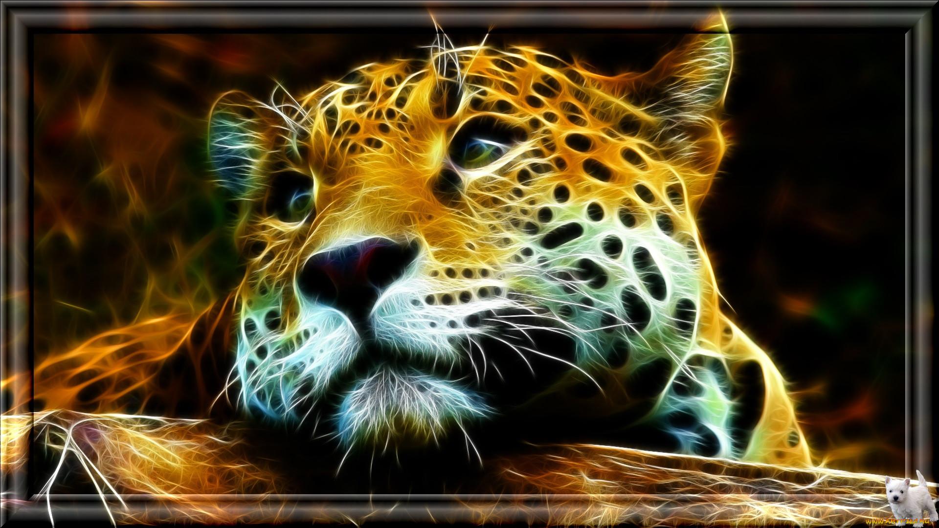 тигры картинки 3 д